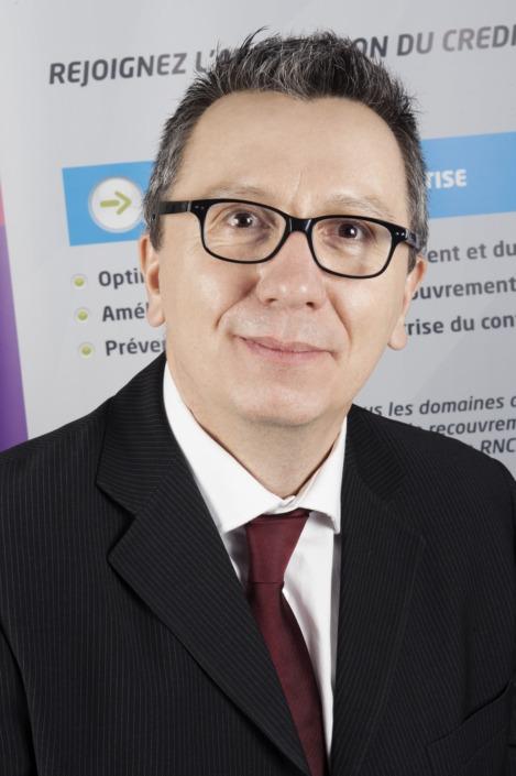Photo de Christophe Ferrie pour une interview de l'AFDCC