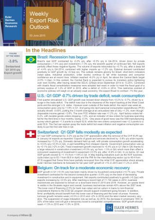 Weekly Export Risk Outlook 03/06/2015