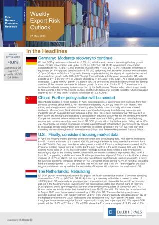 WEEKLY EXPORT RISK OUTLOOK 27/05/2015