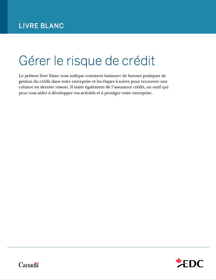Gérer le risque de crédit