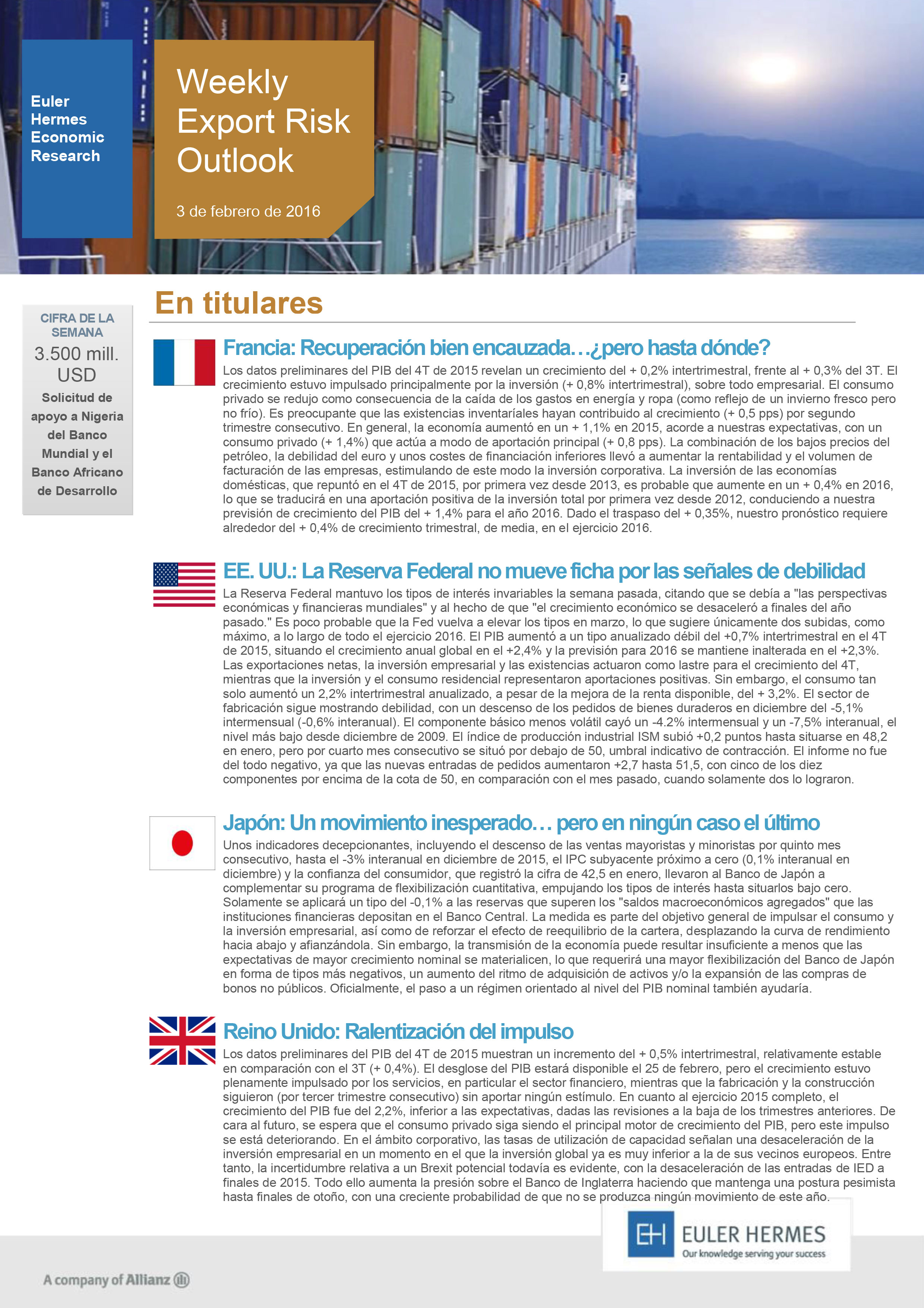 Weekly-Export-Risk-Outlook-No-4-(03-February-2016)-ES-1