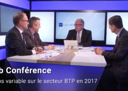 Web conférence Temps variable sur le secteur BTP en 2017