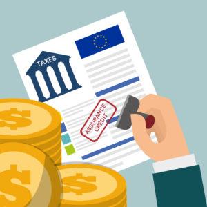 taxes d'assurance-crédit