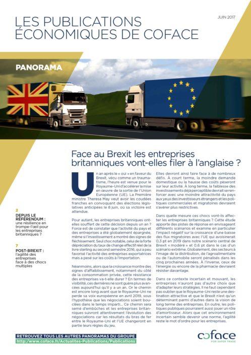 Face au Brexit les entreprises britanniques vont-elles filer à l'anglaise ?