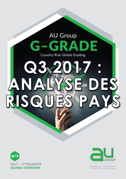 G-Grade 3ème trimestre 2017 : analyse des risques pays