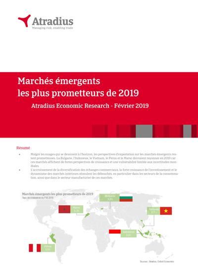 Les marchés émergents les plus prometteurs de 2019