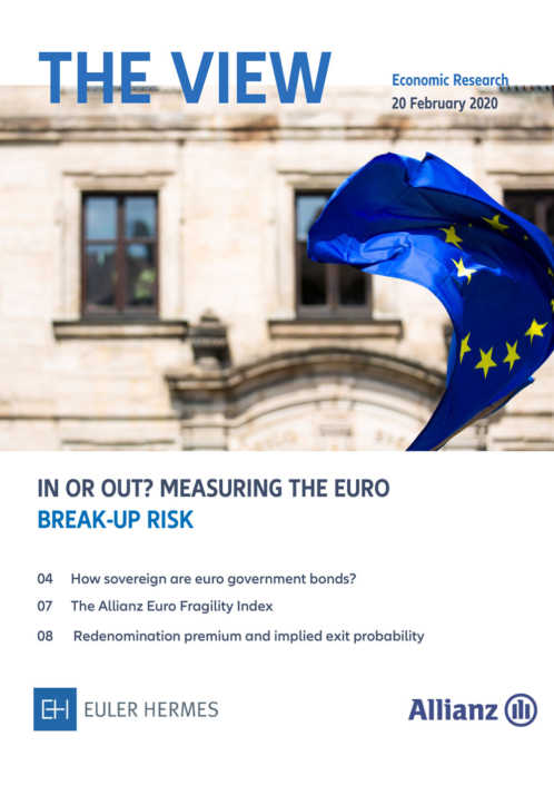 In or out? Measuring the Euro break-up risk