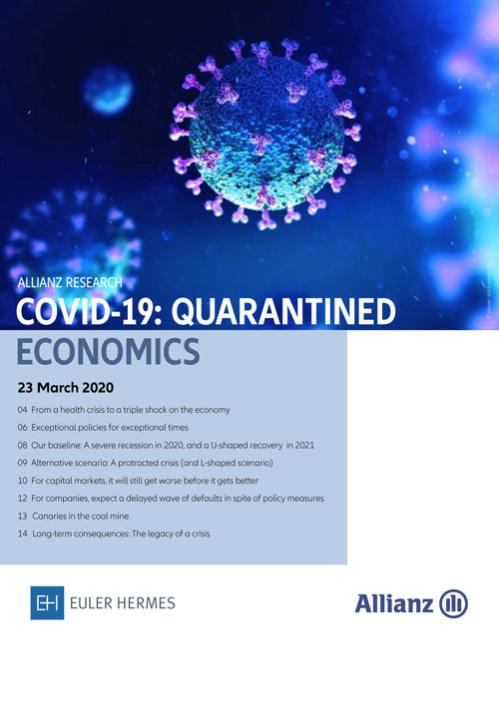 COVID-19: Quarantined Economics