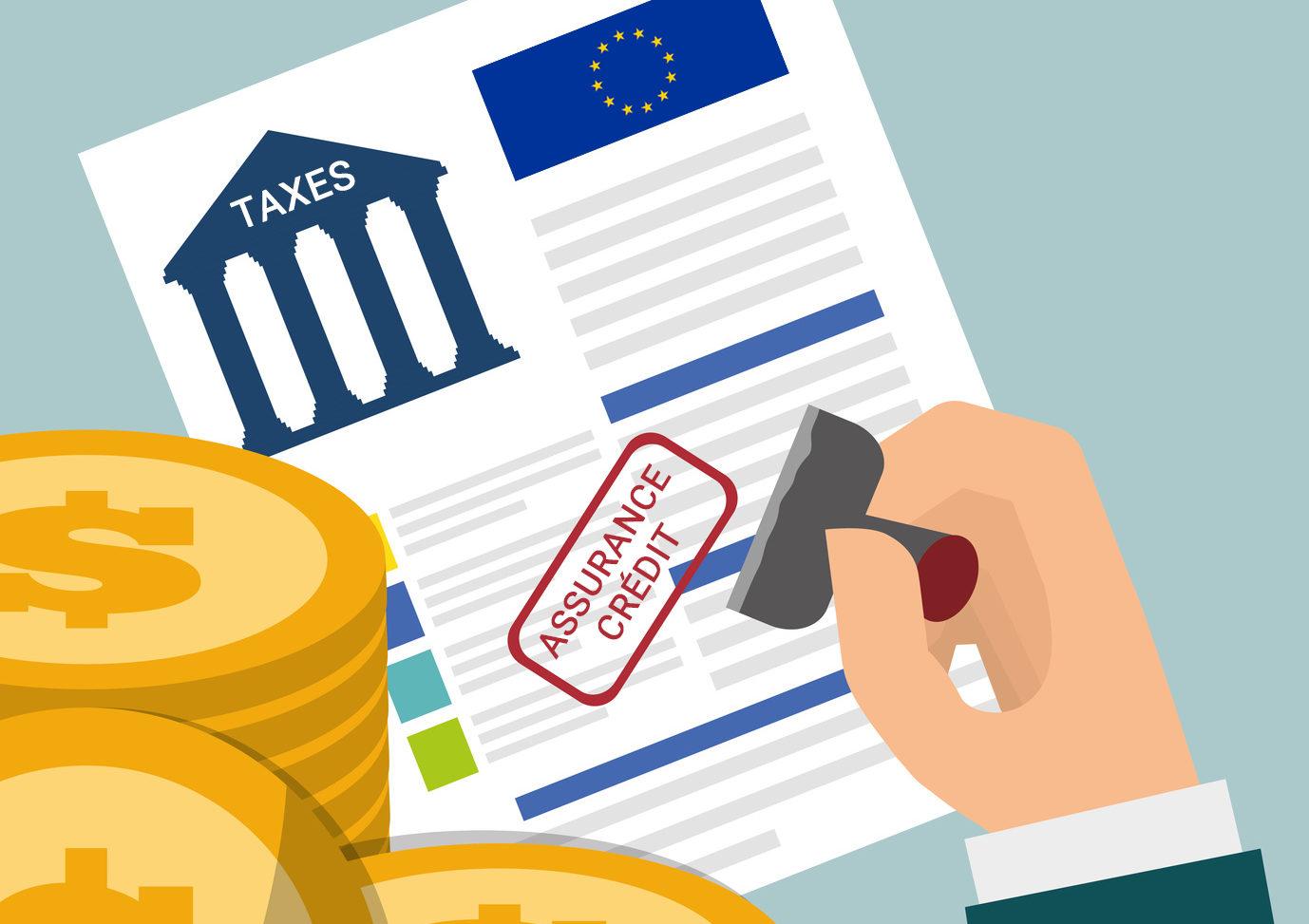 Mise à jour des taxes d'assurance-crédit en Europe